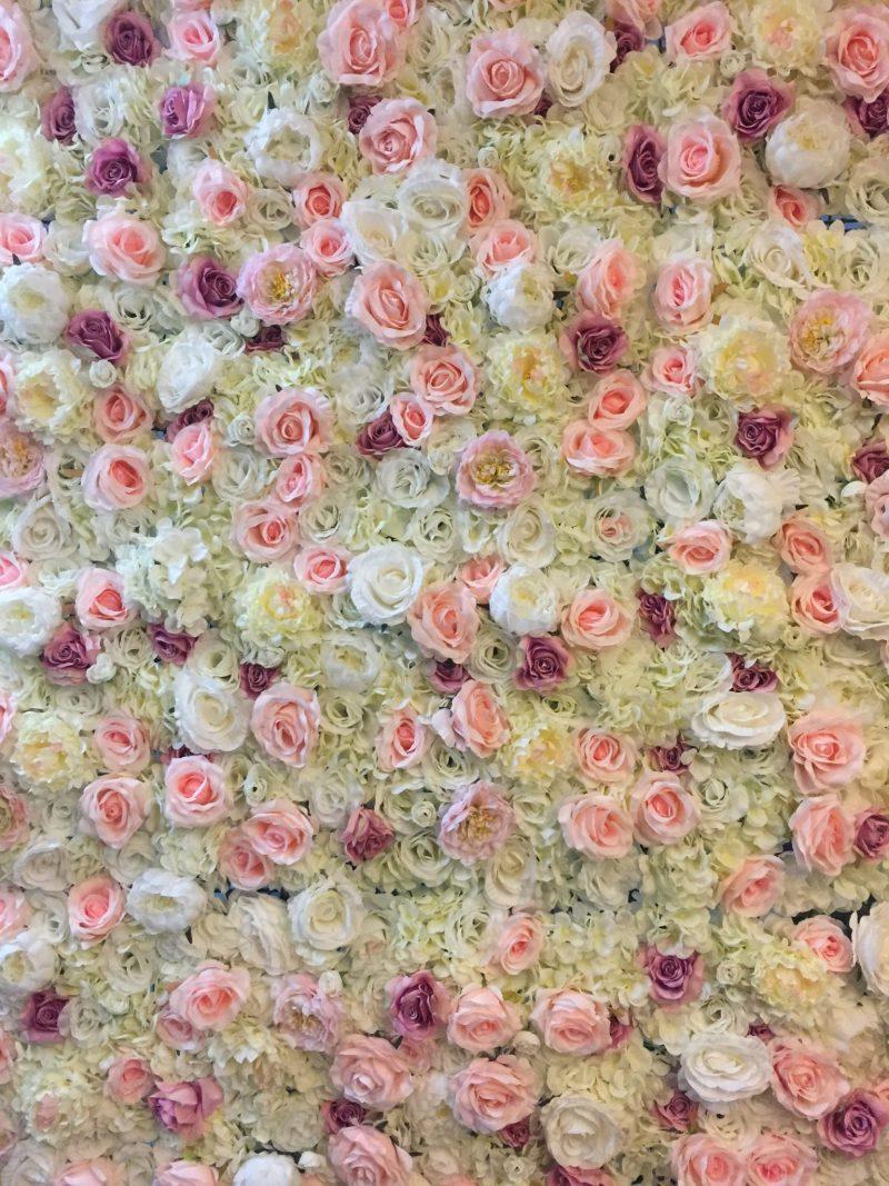 Eternal Spring Flower Wall