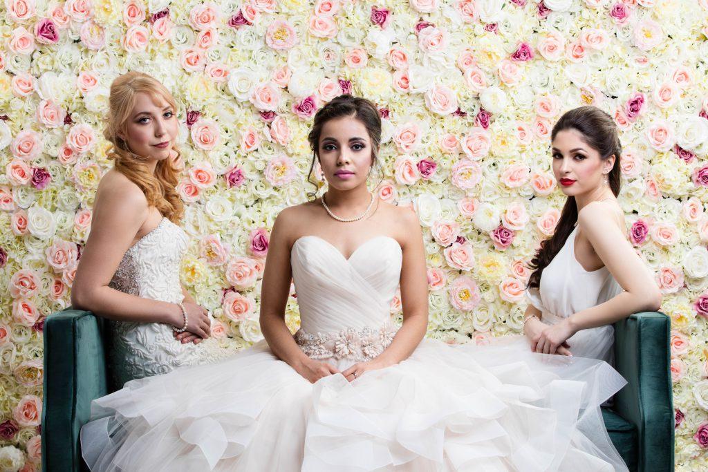 Eternal Spring Flower Wall x Brides