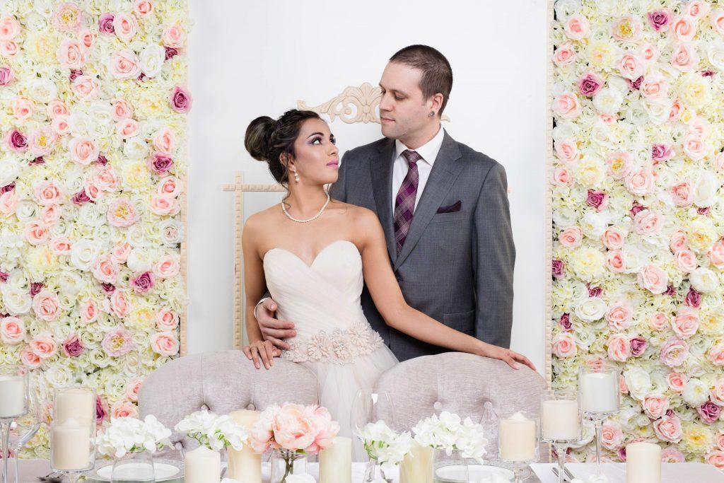 Eternal Spring Flower Wall x Brides & Groom