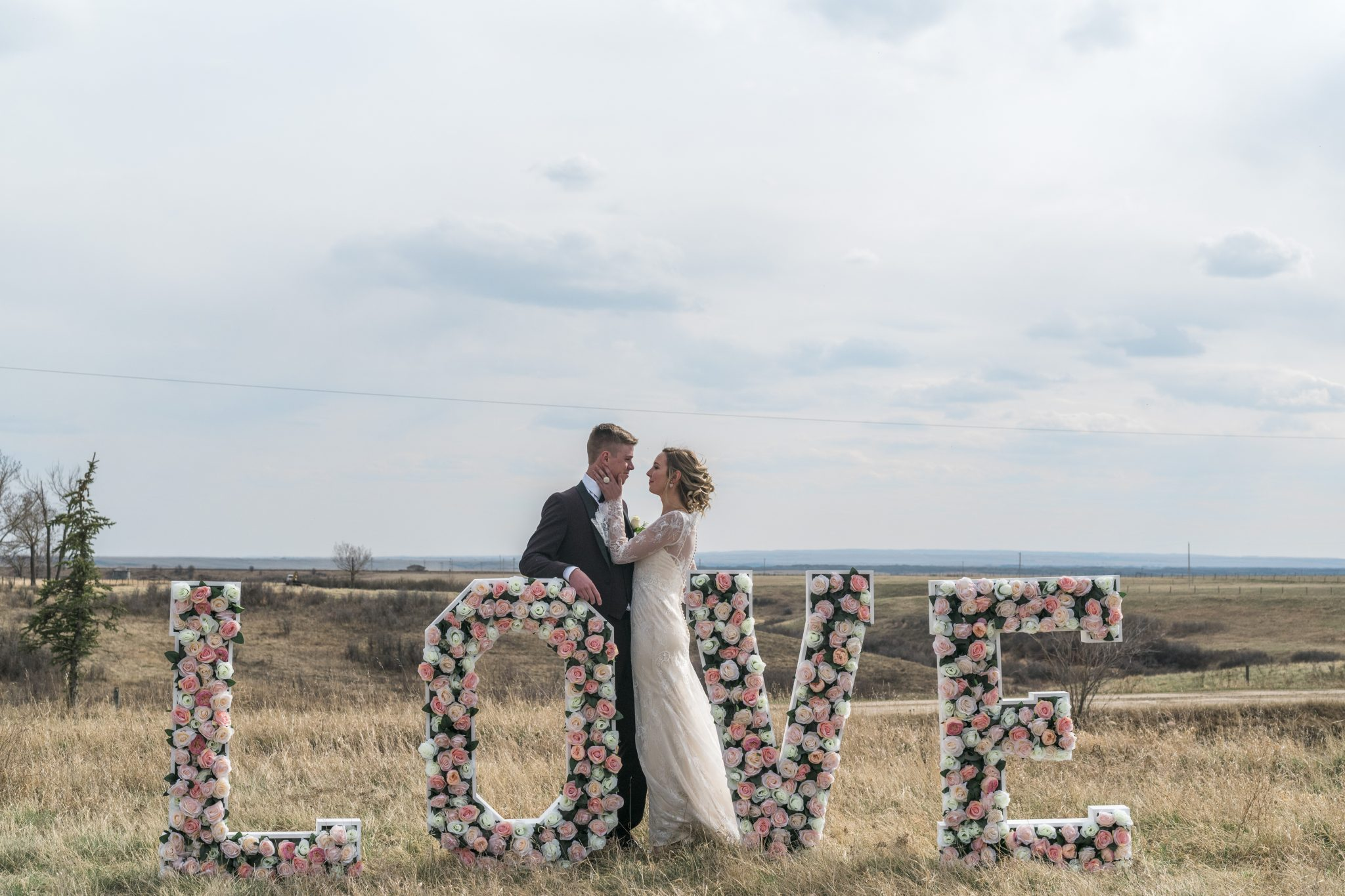 Floral Love Letters x Bride & Groom
