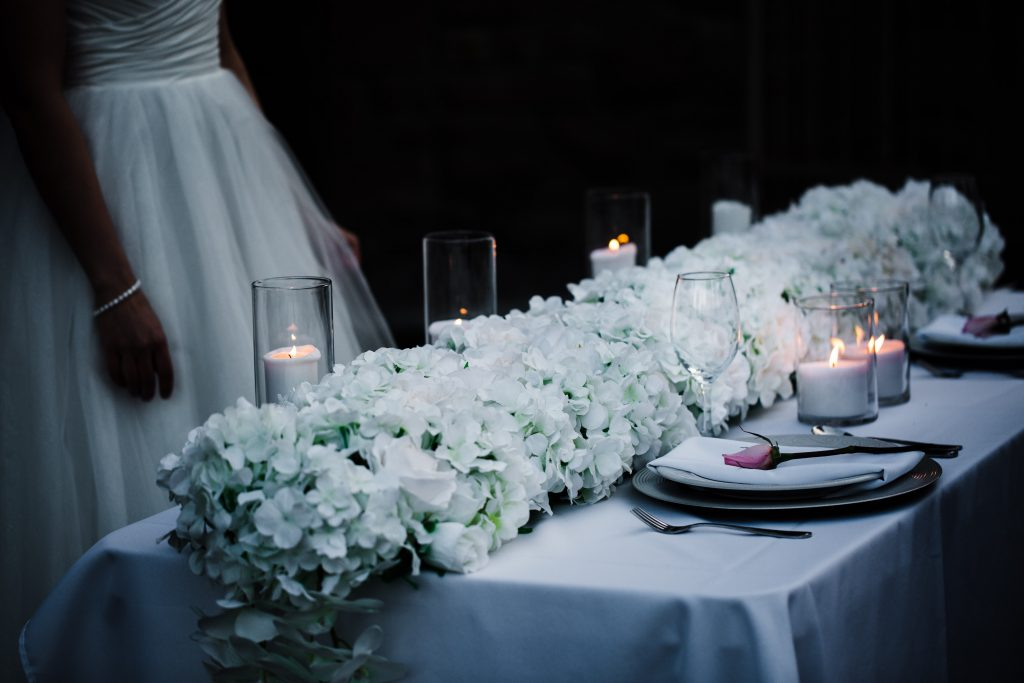 Luxe Floral Table Runners x Table Setting