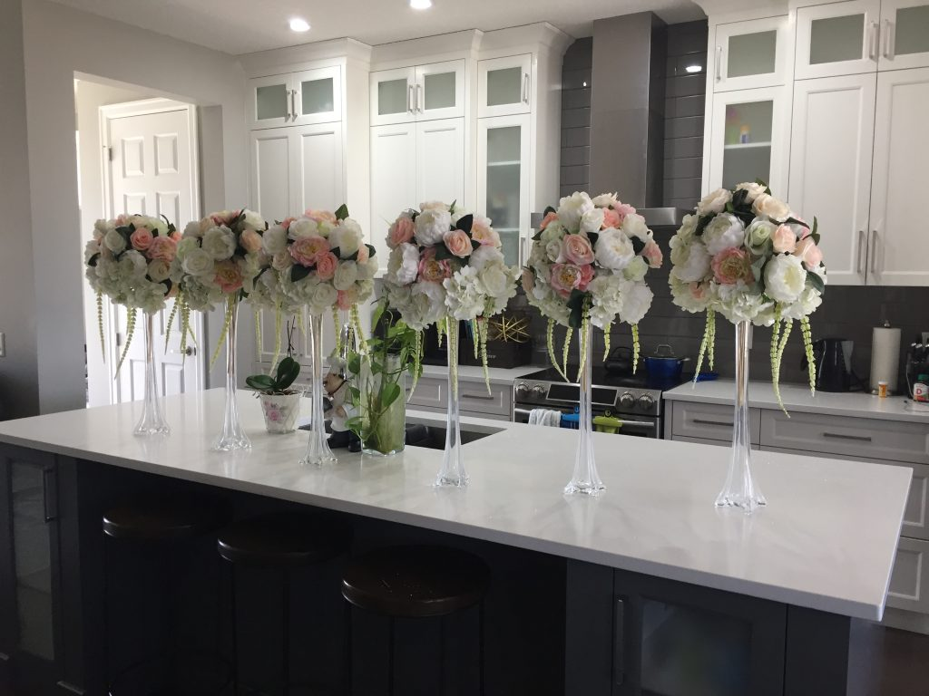 Luxe Floral Centrepieces