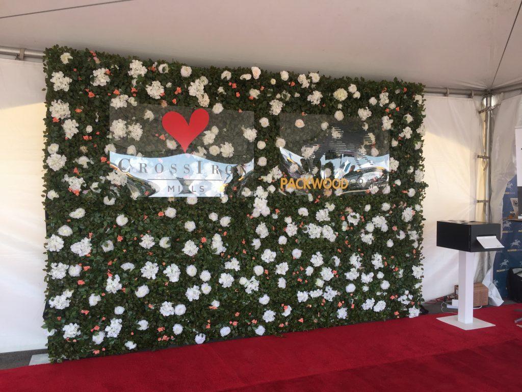 Green Garden Flower Wall x Packwood Grand