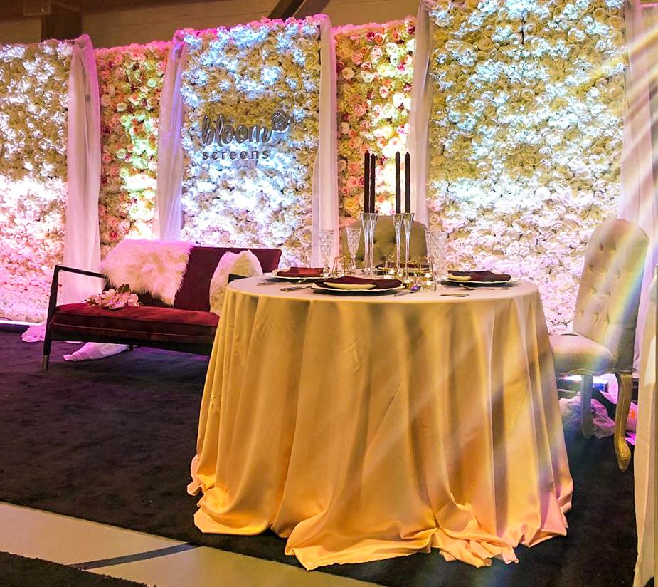 "A stunning shot of our booth at the Wedding Gala by <a href=""http://momentsbysuria.com"">Moments by SURIA</a>"