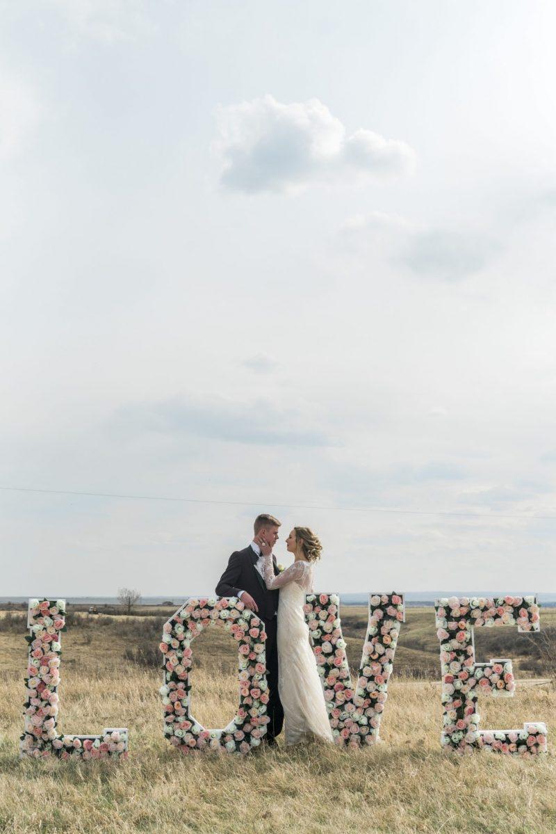Floral Love Letters x Bride & Groom